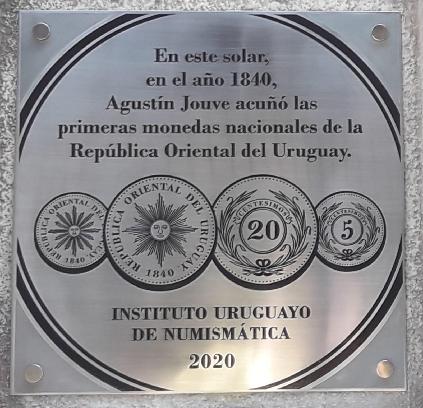Primeras monedas uruguayas en 1840